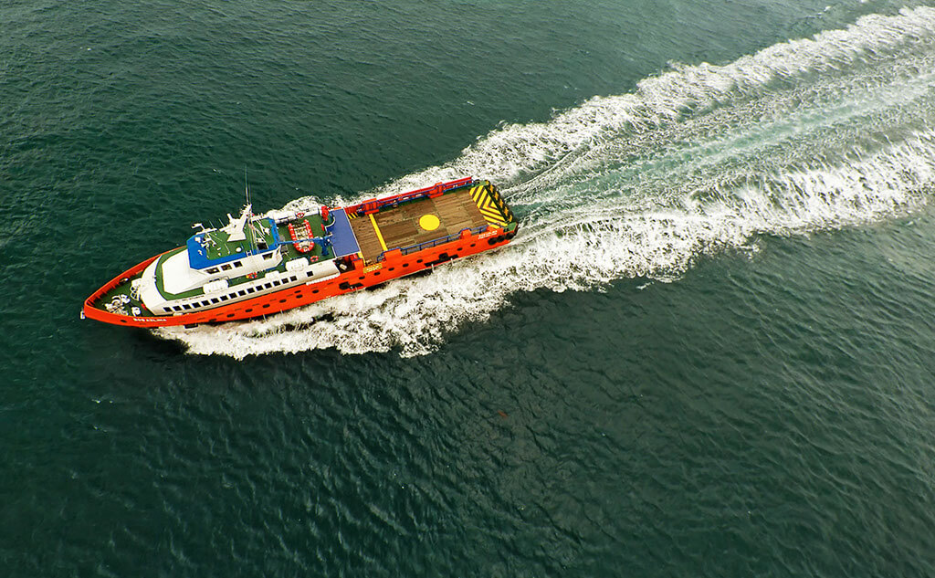 Aerial videography for Marine industry, tuckys Photography