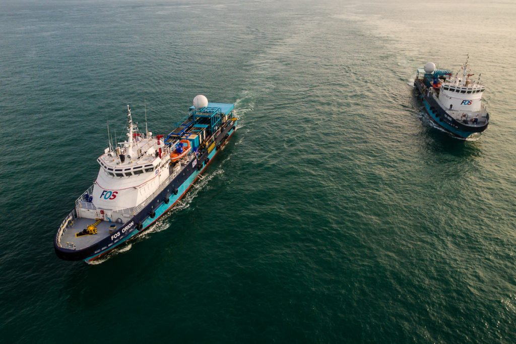 Drone video for marine vessel, Tuckys Photography