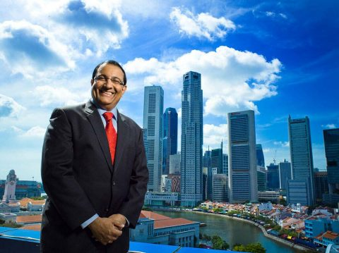 professional corporate portrait photography for Singapore minister, tuckys Photography
