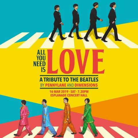 Singapore commercial portraits photography_Tuckys photography_esplanade theatre poster_All you need is love