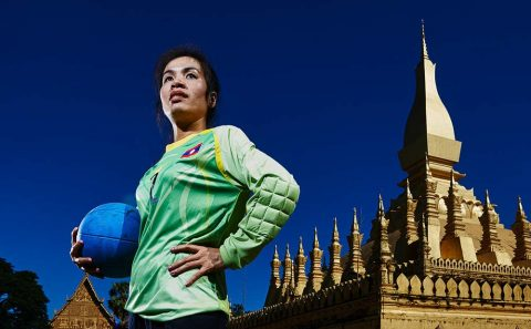 sports portrait photography for sprinter at Myanmar, image by Tuckys Photography