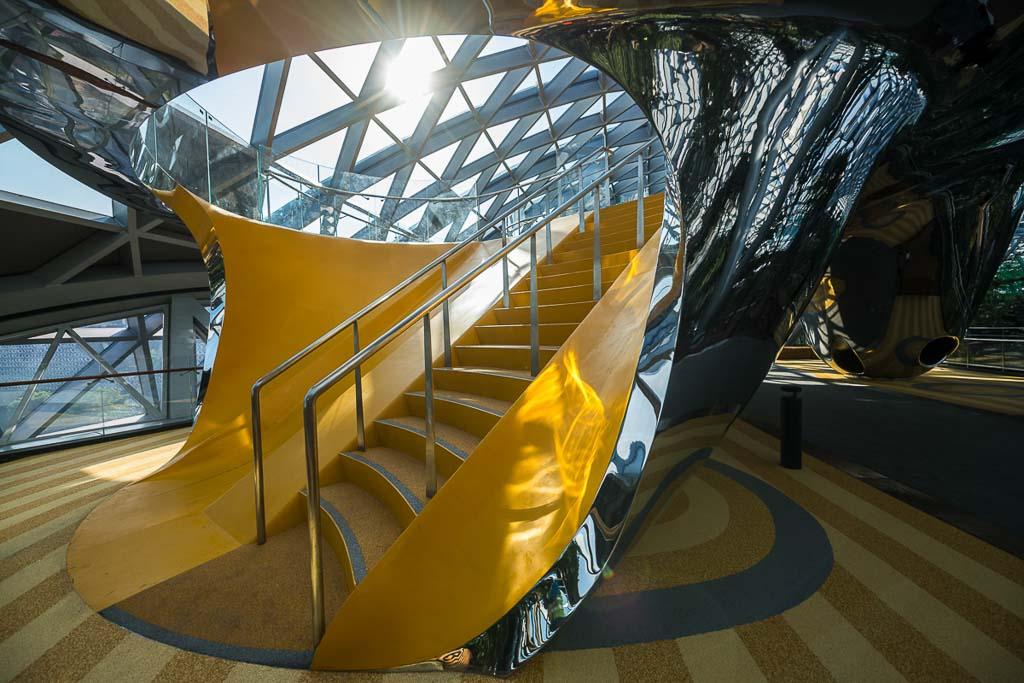 Interior playground at changi airport | Commercial photography by Tuckys