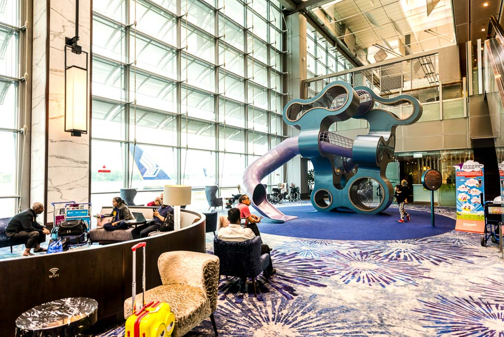 commercial photography for interior playground at T3 changi airport | architecture photography by Tuckys