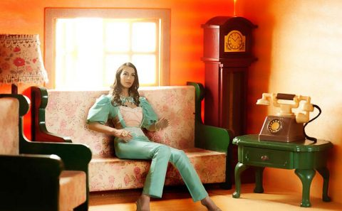 girl composited into a doll house, professional photographer, Tuckys Photography