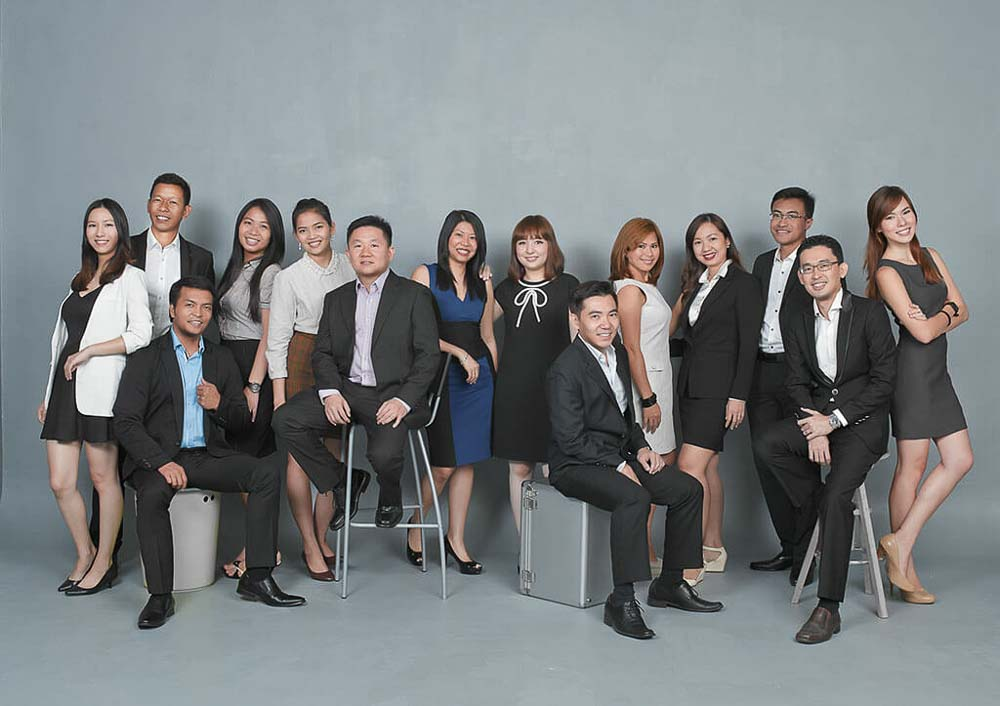 Studio portraits for corporate profile by tuckys Photography
