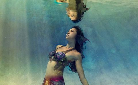 underwater portrait photography for mermaid, tuckys photography