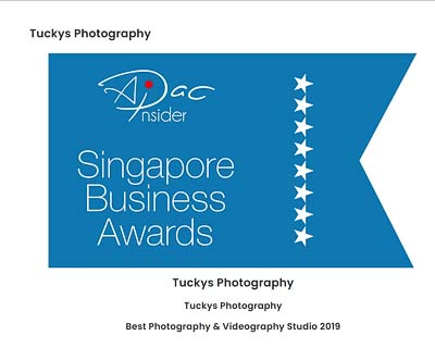 APAC Insider, Singapore Business Awards - Best Photography and Videography Studio 2019