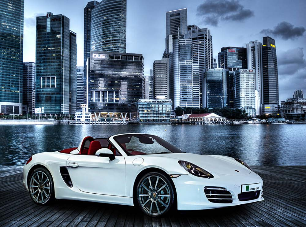Commercial photoshoot for cars at Marina bay front, by Tuckys Photography