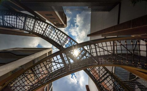architecture photography for bespoke playground by tuckys photography