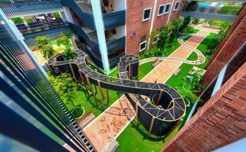 Bespoke playground structure photo shoot | corporate photographer, Tuckys