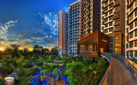Creative panoramic photoshoot fo buildings in singapore | Tuckys photography