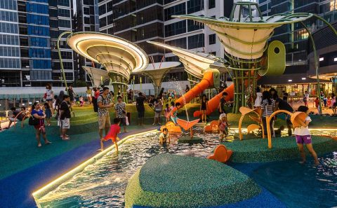 Architecture photography for bespoke designer playground in Singapore | Tuckys Photography