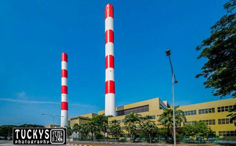 architecture photography, of tuas south incineration plant, Tuckys photography