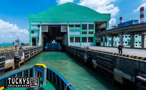 Architecture photography for Tuas Marine transfer building, by Tuckys