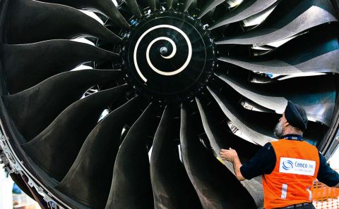 Singapore professional corporate photo of aerospace air craft engine inspection | Corporate photographer, Tuckys