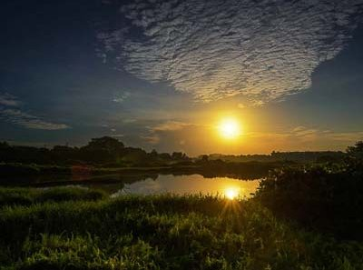 landscape photography in singapore kranji marshes with URA and nparks. sunrise photo by Tuckys