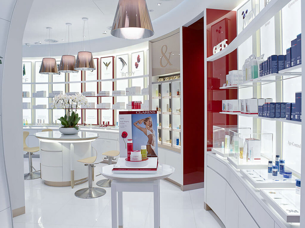 Interior Photography for shop fronts in shopping mall, tuckys