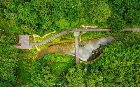 creative landscape photographer with drone image by tuckys