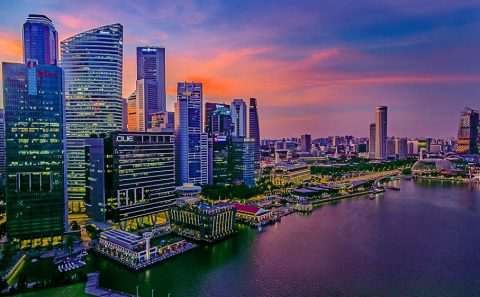Singapore aerial photography with professional architecture photographer, tuckys photography